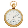 Timepieces:Pocket (post 1900), Non-Magnetic Watch Co. Of America With Paillard's Patent. ...