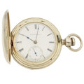 Timepieces:Pocket (pre 1900) , Elgin G.M. Wheeler 4 Ounce Silver Key Wind. ...
