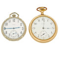 Timepieces:Pocket (post 1900), Two Elgin Pocket Watches. ... (Total: 2 Items)