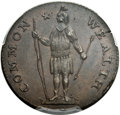 Colonials, 1788 1C Massachusetts Cent, Period, Ryder 12-M, W-6350, Low R.4, MS64 Brown PCGS....