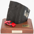 Miscellaneous Collectibles:General, Bill Elliott Signed Used Tire Display. ...