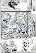 Original Comic Art:Panel Pages, Todd McFarlane Amazing Spider-Man #319 Page 2 Original Art(Marvel, 1989)....