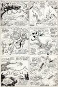 Original Comic Art:Panel Pages, Werner Roth and Dick Ayers X-Men #26 Story Page 11 OriginalArt (Marvel, 1966)....