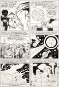 Original Comic Art:Panel Pages, Jack Kirby and Vince Colletta Thor #131 Story Page 10 Original Art (Marvel, 1966)....