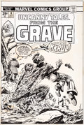 Original Comic Art:Covers, Larry Lieber and Tom Palmer Uncanny Tales from the Grave #6Cover Original Art (Marvel, 1974)....