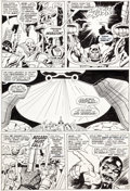 Original Comic Art:Panel Pages, Jack Kirby and Vince Colletta Thor #137 Story Page 15Original Art (Marvel, 1967)....
