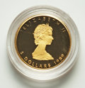 """Canada, Canada: Maple Leaf gold 4-Piece """"10th Anniversary"""" Proof Set 1989 Superb Gem UNC,... (Total: 4 coins)"""