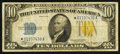 Small Size:World War II Emergency Notes, Fr. 2309* $10 1934A North Africa Silver Certificate Star. Fine-Very Fine.. ...