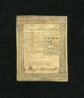 Colonial Notes:Pennsylvania, Pennsylvania October 1, 1773 20s Very Fine. A little residue and asingle pinhole do nothing to hinder the overall appearanc...