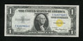 Small Size:World War II Emergency Notes, Fr. 2306 $1 1935A North Africa Silver Certificate. Gem Crisp Uncirculated.. An enormously margined North Africa Ace that cou...