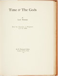 Books:Science Fiction & Fantasy, Lord Dunsany (Edward Plunkett). S[idney] H. Sime, illustrator.SIGNED/LIMITED. Time & the Gods. London & New Yor...
