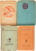 Books:Science Fiction & Fantasy, Lord Dunsany. Group of Four Plays, Including Three First Editions. Various publishers, [1916 - 1935].... (Total: 4 Items)