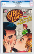 Silver Age (1956-1969):Romance, Girls' Love Stories #128 (DC, 1967) CGC NM 9.4 Off-white to whitepages....