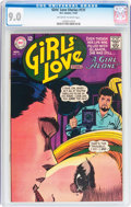 Silver Age (1956-1969):Romance, Girls' Love Stories #131 (DC, 1967) CGC VF/NM 9.0 Off-white towhite pages....