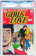 Silver Age (1956-1969):Romance, Girls' Love Stories #142 (DC, 1969) CGC NM- 9.2 White pages....