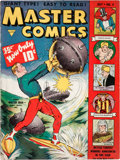 Golden Age (1938-1955):Science Fiction, Master Comics #4 (Fawcett Publications, 1940) Condition: ApparentGD....