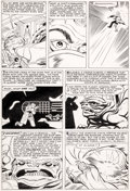 Original Comic Art:Panel Pages, Jack Kirby and Don Heck Tales To Astonish #44 Page 7Original Art (Marvel, 1963)....