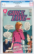 Bronze Age (1970-1979):Romance, Girls' Love Stories #155 (DC, 1970) CGC NM- 9.2 White pages....