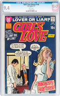 Bronze Age (1970-1979):Romance, Girls' Love Stories #156 (DC, 1971) CGC NM 9.4 White pages....