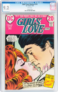Bronze Age (1970-1979):Romance, Girls' Love Stories #174 (DC, 1972) CGC NM- 9.2 White pages....