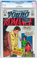 Bronze Age (1970-1979):Romance, Young Romance #164 (DC, 1970) CGC NM 9.4 White pages....