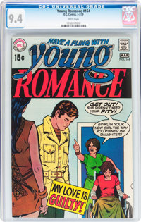 Young Romance #164 (DC, 1970) CGC NM 9.4 White pages