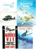 Books:World History, [World War II, Aviation]. Group of Four Books on the Flying Tigers of World War II. Various publishers, [1984 - 2001].... (Total: 4 Items)