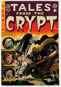 Golden Age (1938-1955):Horror, Tales From the Crypt #45 (EC, 1954) Condition: VG....
