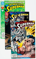 Modern Age (1980-Present):Superhero, Superman-Related Box Lot (DC, 1991-94) Condition: Average NM-....