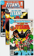 Modern Age (1980-Present):Superhero, New Teen Titans Half Short Box Group (DC, 1980s) Condition: AverageVF+....