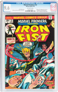 Bronze Age (1970-1979):Superhero, Marvel Premiere #15 Iron Fist (Marvel, 1974) CGC NM+ 9.6 Off-whitepages....
