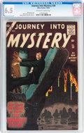 Silver Age (1956-1969):Horror, Journey Into Mystery #39 (Marvel, 1956) CGC FN+ 6.5 Off-white towhite pages....