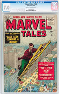Golden Age (1938-1955):Science Fiction, Marvel Tales #138 (Atlas, 1955) CGC FN/VF 7.0 Cream to off-whitepages....