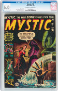 Golden Age (1938-1955):Horror, Mystic #10 (Atlas, 1952) CGC FN 6.0 Off-white to white pages....