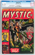 Golden Age (1938-1955):Horror, Mystic #15 (Atlas, 1952) CGC FN 6.0 Off-white to white pages....