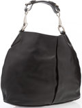 "Luxury Accessories:Bags, Gucci Black Leather Horsebit Hobo Bag. Excellent Condition.16"" Width x 12"" Height x 5"" Depth. ..."
