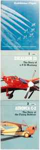 Books:Americana & American History, [Aviation]. Group of Three Publications on Aviation and/orAircraft. Various publishers, [1975 - 1978]....