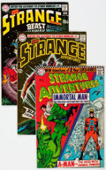 Silver Age (1956-1969):Science Fiction, Strange Adventures Group of 26 (DC, 1966-73) Condition: Average FN.... (Total: 25 Comic Books)