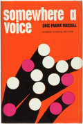 Books:Science Fiction & Fantasy, Eric Frank Russell. Somewhere a Voice. London: Dennis Dobson, [1965]. ...