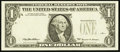 Error Notes:Third Printing on Reverse, Fr. 1925-F $1 1999 Federal Reserve Note. About Uncirculated.. ...