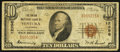National Bank Notes:California, Ventura, CA - $10 1929 Ty. 1 The Union NB Ch. # 12996. ...