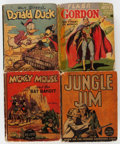 Big Little Book:Miscellaneous, Big Little Book Group of 9 (Whitman, 1930s) Condition: AverageGD.... (Total: 9 Comic Books)