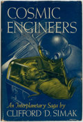 Books:Science Fiction & Fantasy, Clifford D[onald] Simak. Cosmic Engineers. New York: Gnome Press, Publishers, [1950]....
