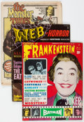 Magazines:Horror, Assorted Monster Magazines Group of 20 (Various Publishers, 1960s) Condition: Average FN.... (Total: 20 Items)