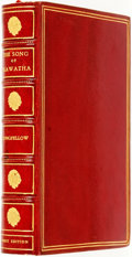 Books:Literature Pre-1900, Henry Wadsworth Longfellow. The Song of Hiawatha. Boston andNew York: Houghton, Mifflin and Company, [1890]....