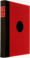 Books:Reference & Bibliography, [Bibliography]. Quarto-Millenary: The First 250 Publications andthe First 25 Years 1929-1954 of the Limited Editions Cl...