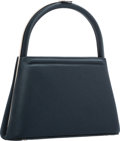 "Luxury Accessories:Bags, Judith Leiber Black Satin Evening Bag. Excellent Condition.8"" Width x 5"" Height x 3"" Depth. ..."