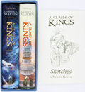 Books:Science Fiction & Fantasy, George R. R. Martin. Richard Hescox, illustrator. SIGNED/LIMITED.A Clash of Kings. Subterranean Press, 2014. ... (Total: 3Items)