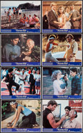 "Movie Posters:Sports, The Karate Kid & Other Lot (Columbia, 1984). Mini Lobby Card Sets of 8 (2 Sets) & Photos (3) (8"" X 10""). Sports.. ... (Total: 19 Items)"