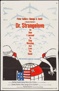 """Movie Posters:Comedy, Dr. Strangelove or: How I Learned to Stop Worrying and Love theBomb (Columbia, 1964). One Sheet (27"""" X 41"""") Day-Glo Style. ..."""
